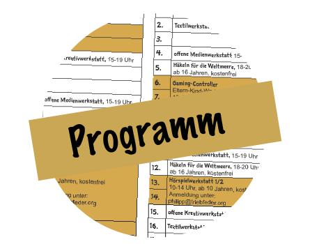 Programm von Oktober bis Dezember! Viele Angebote!